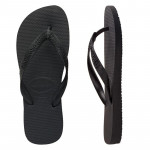 Havaianas Top Thongs (Black, Size 35/36 BR)