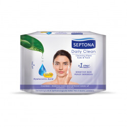 Septona Cosmetic Wipes with Hyaluronic Acid & Pro-Vitamin B5