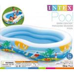Intex Swim Center Family Lounge Pool