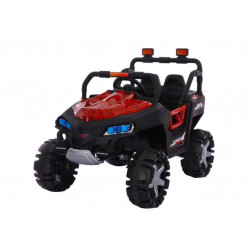 Motor Car Desert  Jeep 2 - Red