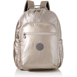 Kipling SEOUL BABY Backpack, Metallic Glow