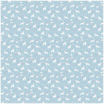 Stephen Joseph Muslin Blanket, Blue Unicorn