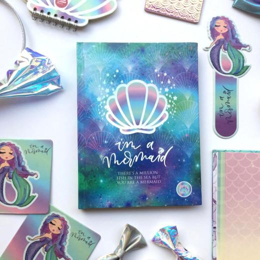 Mofkera - Mermaid Set Sketchbook Design 3