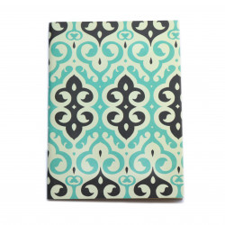 Colors & Shapes Arabian Motifs Oriental Pattern Notebook