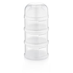 Babyjem Food Storage 3 Containers, White