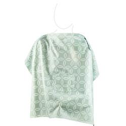 Babyjem Nursing Apron with Pocket, Green