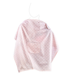 Babyjem Nursing Apron with Pocket, Pink