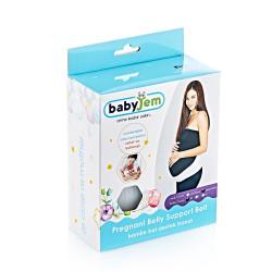 Babyjem Pregnancy Support Waist Band, L White