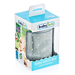 Babyjem Lunch Box 320 ml, Grey