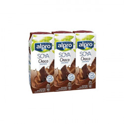 alpro Soya Chocolate Drink 3*250 ml