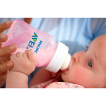 Philips Avent Classic Plus Slow Flow Baby Bottle Pink, 260 ml, 2 Pack