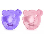 Philips Avent Soothie Shapes Pacifier 0-3 m, Pink&Purple