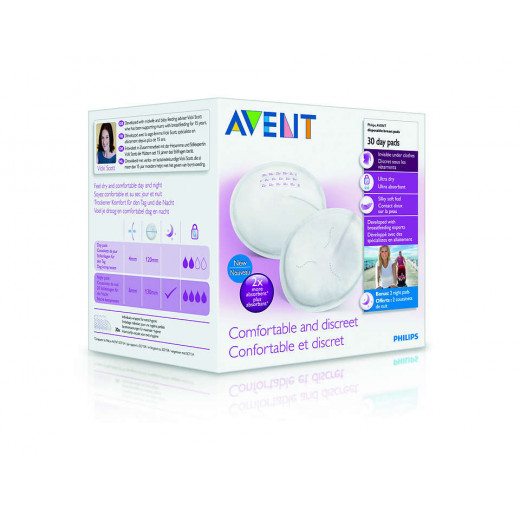 Philips Avent Disposable Breast Pads Day - 30 Pieces