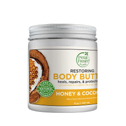 Petal Fresh Honey & Coconut Oil Body Butter, Restoring, 237 ml