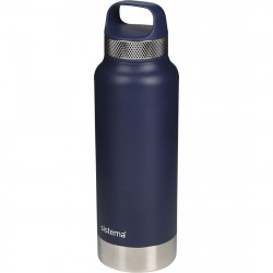 Sistema 1 Liter Stainless Steel - Navy Blue