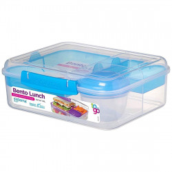 Sistema Bento Lunch TO GO 1.65L, Blue