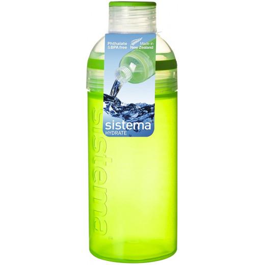 Sistema Active Hydrate Trio Bottle, 580 ml, Green