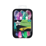 Tommee Tippee Feeding Spoons, 5 Count, Pink
