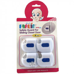 Farlin Safety Guard for Closet Door, Blue