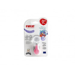 Farlin Doctor J. Deluxe Nail Clipper with Magnifier - Pink