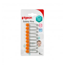 Pigeon Safety Pins Small - Orange