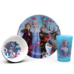 Zak Designs Frozen 2 Plate Bowl And Tumbler