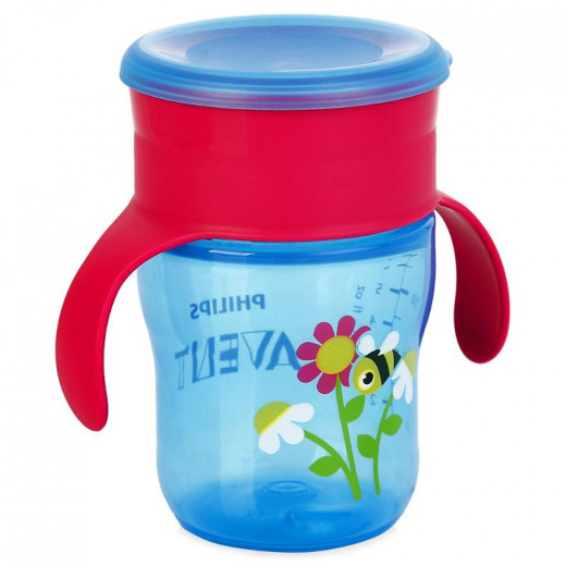 Philips Avent Grown Up Cup 260 ml, Pink&Blue