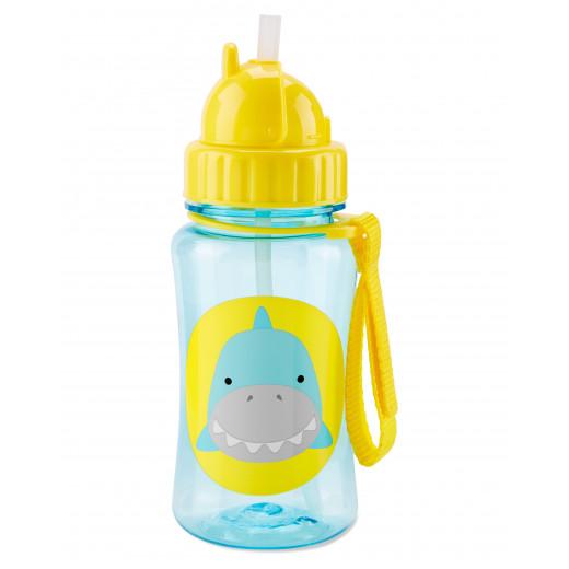 مطرة ماء مع مصاصة لتدريب لاطفال الصغار على الشرب  من سكيب هوب, القرش