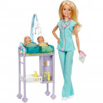 Barbie Careers Baby Doctor Doll & Playset