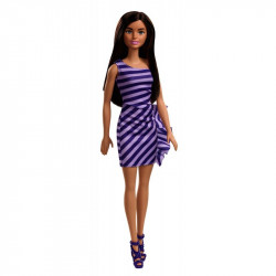 Mattel Barbie Modern Dress With Accessories, Purple Dress