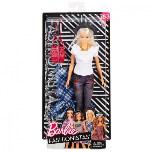 Mattel Barbie Fashionistas Denim Floral Doll