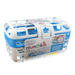 Munchkin High Capacity Dishwasher Basket, Blue