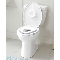 Skip Hop Easy-Store Toilet Trainer - White
