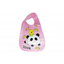 Plastic Baby Bib Waterproof, Love Panda