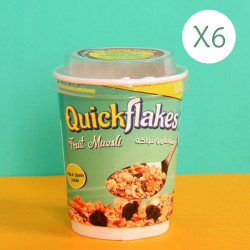 Quickflakes Fruit Musli X6 Cups