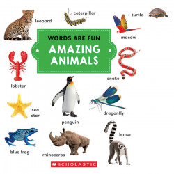 Amazing Animals (Words Are Fun), 12 pages