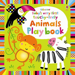 Baby's Very First Touchy-Feely Animals Playbook, 10 pages