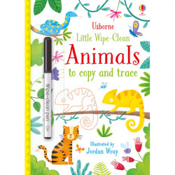 Little Wipe-Clean Animals to Copy and Trace Paperback