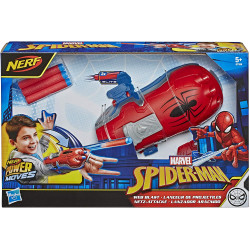 Nerf Spider-Man Power Moves Marvel Web Blast - Dart Throw Toy