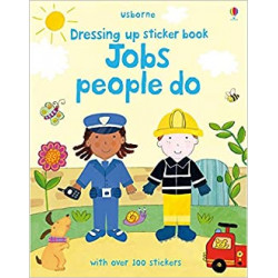 Dressing Up Sticker Book : Jobs People Do, 24 pages