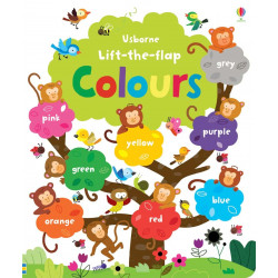 Lift the Flap Colours Book, 16 pages