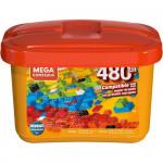 Mega Construx Medium Bulk Tub Open Ended Construction Set - 480pcs