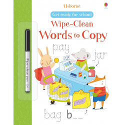 Wipe-Clean Words to Copy, 20 pages