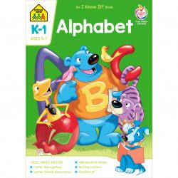 School Zone Alphabet Grades K-1 Workbook, 32 pages