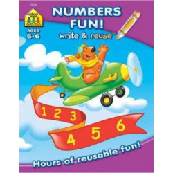 School Zone Math Readiness a Wipe-Off Book: Hours of Reusable Fun!, 26 pages