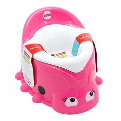 Fisher-Price Ladybug Potty Training Seat, Sweet Pink