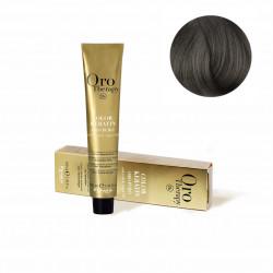 Fanola Oro Therapy Ammonia-free Hair Dye, 6.1 Dark Chestnut Ash