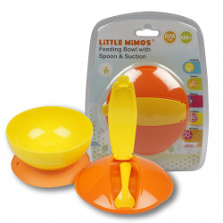 Toddler Feeding Bowl W/ Spoon and Suction