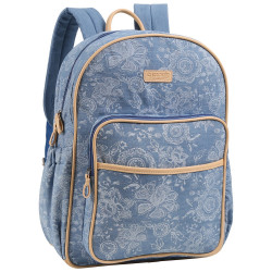 Cherokee Denim Diaper Backpack