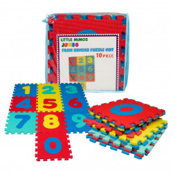 10 Piece Foam Number Floor Puzzle Mat